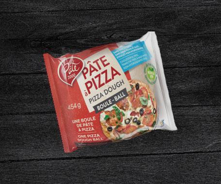 Boules de pâte à pizza